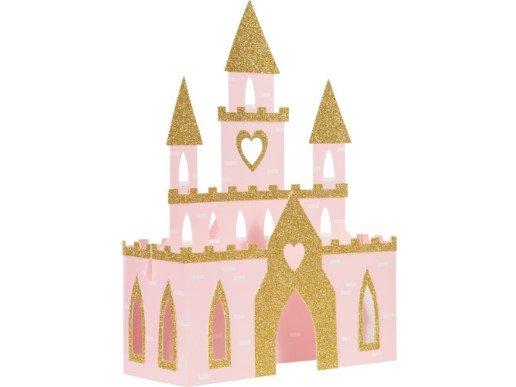Pink Princess Castle Centerpiece Decoration (27.9cm x 38.1cm)