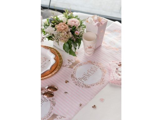 Rose Gold Princess Runner for the Table (30cm x 3m)
