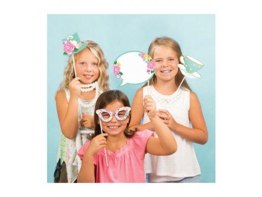 Photobooth Props Floral Tea Party (10pcs)