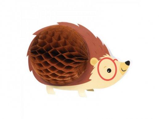 Hedgehog Centerpiece Table Decoration (23,4cm x 15,8cm)