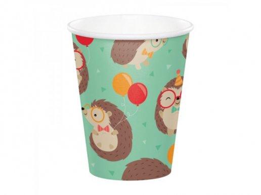 Hedgehog Paper Cups (8pcs)