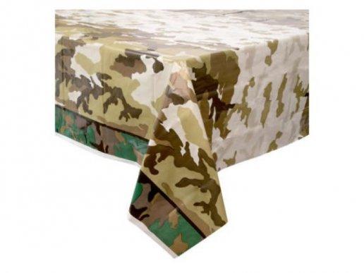 Military Plastic Tablecover (137cm x 213cm)
