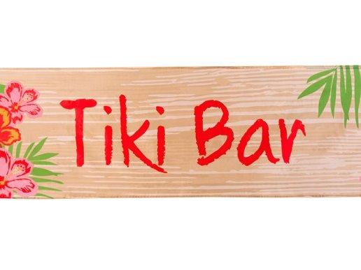Tiki Bar Υφασμάτινο Μπάνερ (180εκ x 50εκ)