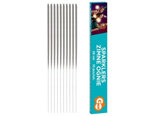 Cake Sparklers 25cm (10pcs)