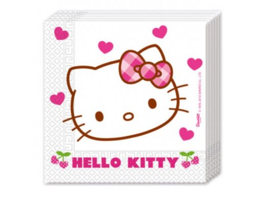 Luncheon Napkins Hello kitty (20pcs)