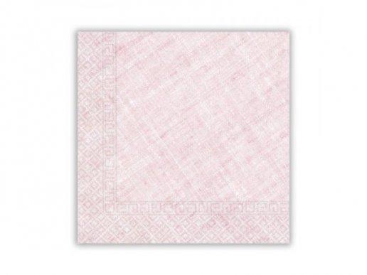 Χαρτοπετσέτες Ροζ Compostable (20τμχ)