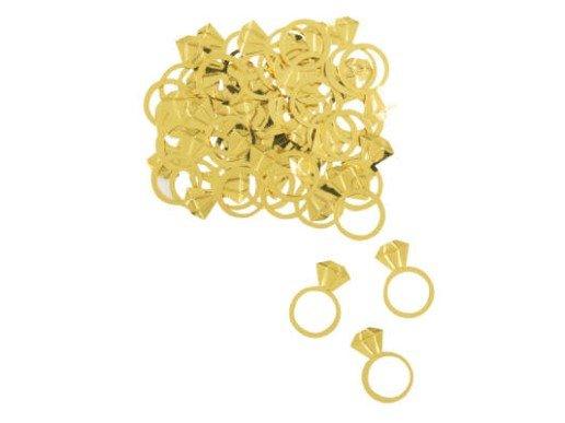 Gold Wedding Rings Confettis (14g)