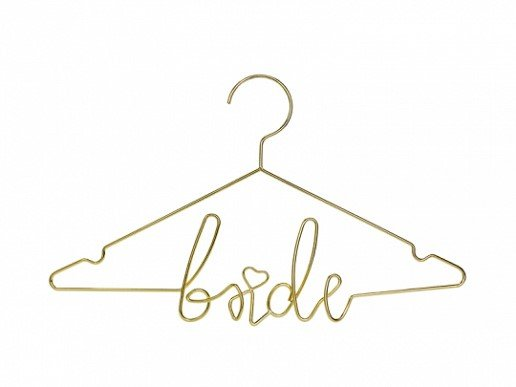 Gold Hanger Bride
