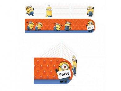 Minions Party Invitations (6pcs)