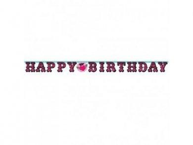 Γιρλάντα Ροκ Σταρ Happy Birthday (2,19μ)