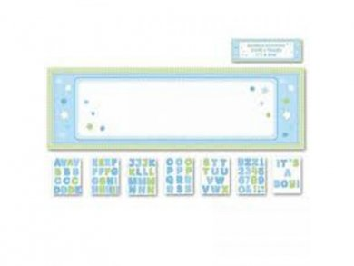 Personalize it Blue Banner Kit