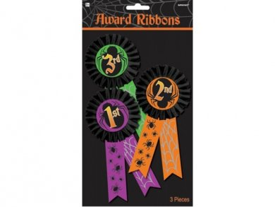 Halloween Award Badges (3pcs)