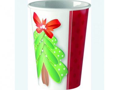 Paper Cups Cutte Christmas Tree (8pcs)