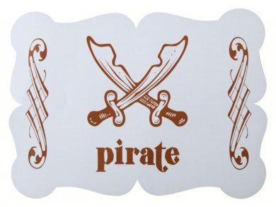 Pirate Placemats (6pcs)