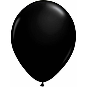 Black Latex Balloons (5pcs)