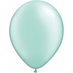 Πράσινο Απαλό Φιστικί Περλέ Λάτεξ Μπαλόνια (5τμχ)