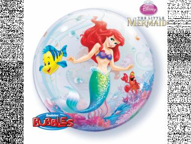 Bubble μπαλόνι Γοργόνα Άριελ