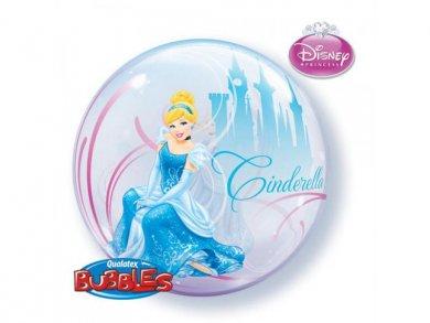 Σταχτοπούτα Bubble μπαλόνι (56εκ)