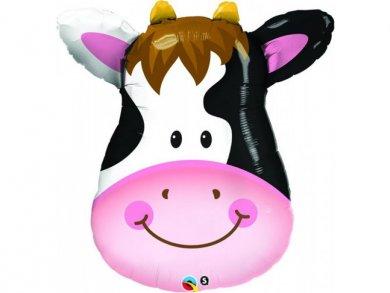 Cow Face Supershape Balloon (81cm)