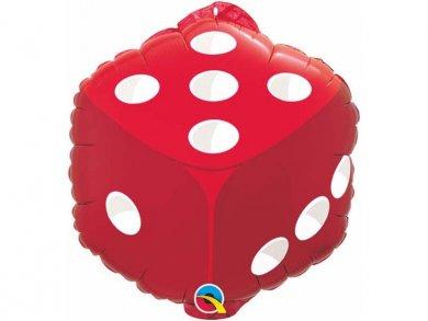 Ζάρι foil μπαλόνι