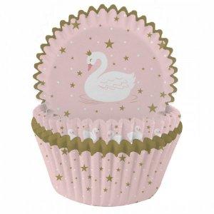 Stylish Swan Cupcake Cases (75pcs)