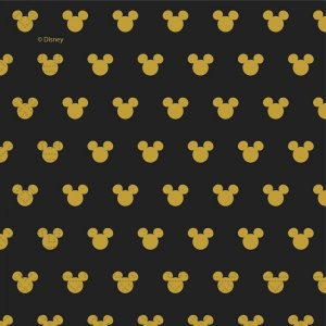 Gold Mickey Luncheon Napkins (20pcs)