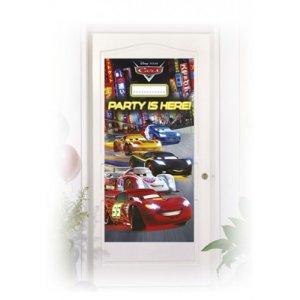 Cars Plastic Door Banner