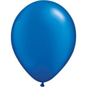Μπλε Περλέ Λάτεξ Μπαλόνια (5τμχ)