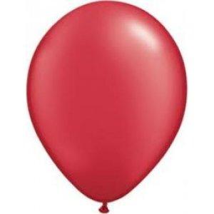 Κόκκινα Περλέ Λάτεξ Μπαλόνια (5τμχ)