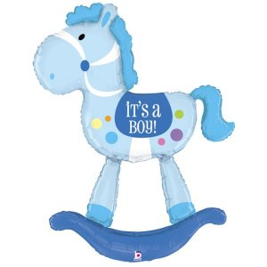 Little Horse It's a Boy Balloon Supershape