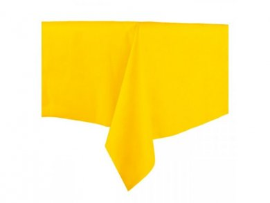 Waterproof tablecover in Yellow Color (140cm X 240cm)