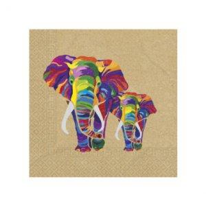 Africa Elephant Luncheon Napkins (20pcs)