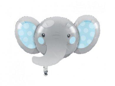 Boy Elephant Supershape Balloon (62,4cm X 92,9cm)