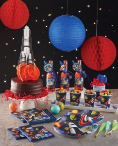 BOYS - THEMED PARTY SUPPLIES