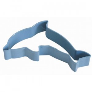 Dolphin shape cookie cutter