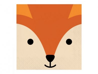 Fox Luncheon Napkins (16pcs)