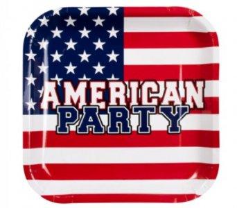 American Party Χάρτινα Πιάτα (6τμχ)