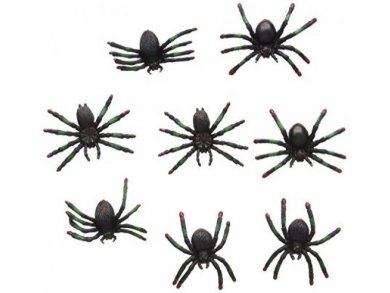 Small Spiders 36pcs