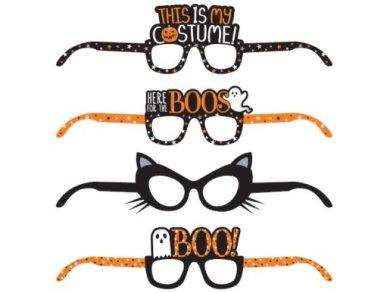 Halloween Fun Glasses (4pcs)