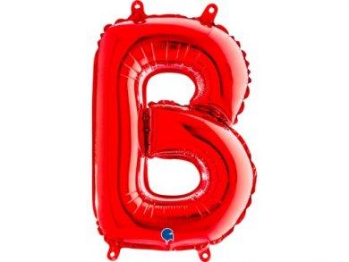 B Letter Balloon Red (35cm)