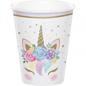 Baby Unicorn Paper Cups (8pcs)