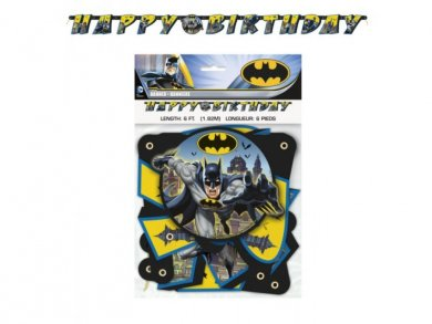 Batman Happy Birthday Garland (1,82m)