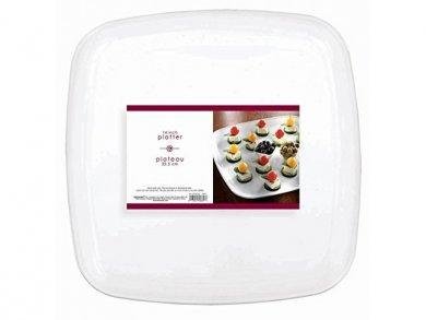 White Square Platter (35,5cm)
