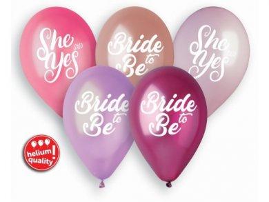 Bride to Be Λάτεξ Μπαλόνια (5τμχ)