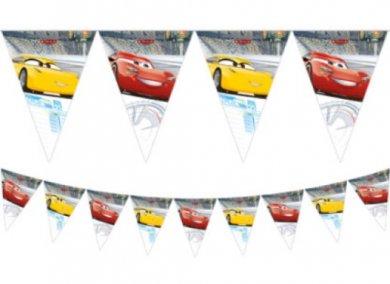 Cars Γιρλάντα Σημαιάκια (2,3μ)