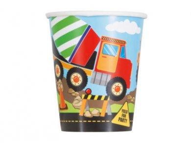 Construction Paper Cups (8pcs)