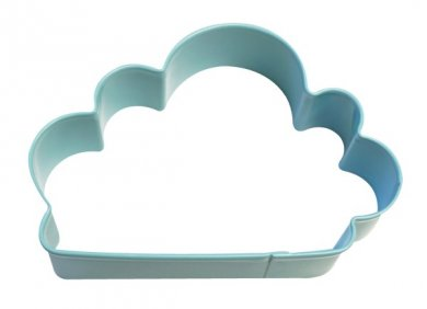 Cookie Cutter Cloud (10cm x 7cm)