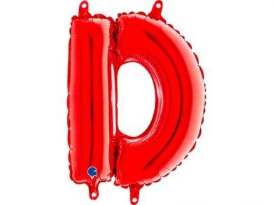 D Μπαλόνι Γράμμα Κόκκινο (35εκ)