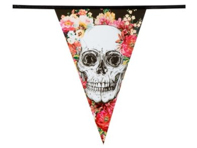 Day of the Dead Flag Bunting (6m)