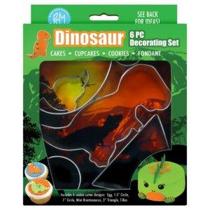 Dinosaurs Cookie Cutter Set (6pcs)